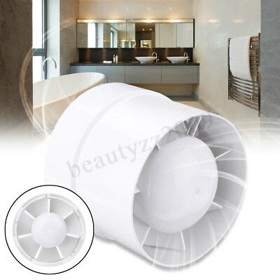 """4"""" 5"""" 6"""" Ventilation Fan Exhaust Air Blower Extractor Ducting Vent Cooling"""