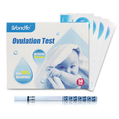 Wondfo Ovulation Test Over 99% Accuracy  LH Home Urine Test Strip 50T2