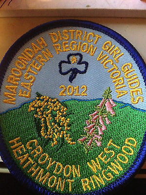 Girl Guides / Scouts Maroondah District..