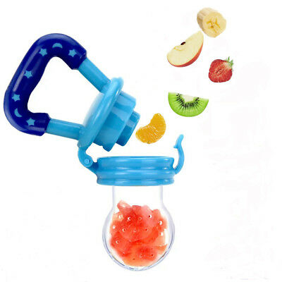 Baby Kids Feeding Pacifier Fresh Food Fruit Feeder Safety Dummy Soother Nipple