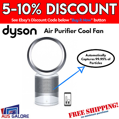 New Dyson Air Purifier Cool Fan Pure Cool Link 360-Degree Glass Hepa Filter
