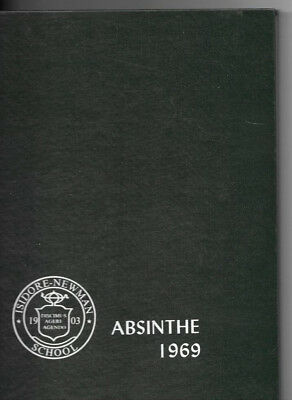 1969 Newman High School Absinthe Yearbook New Orleans Louisiana La