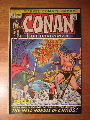Conan The Barbarian #15, 1972 (Vf-)