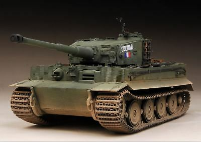 AwardWinner Built 1/35 French CHAR Tiger I Late Zimmerit The Famous Colmar+PE