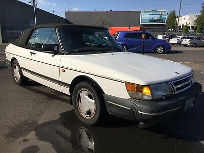 1993 Saab 900  1993 Saab 900 Turbo Convertible