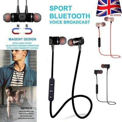 W Mic Sports In-Ear Wireless Earphones Bluetooth 4.2 Stereo Headphones Headsets
