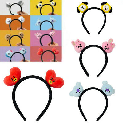 Kpop BTS BT21 Headbands Hair Band Tie Hairpin Bangtan Boys CHIMMY Tuck Comb Gift