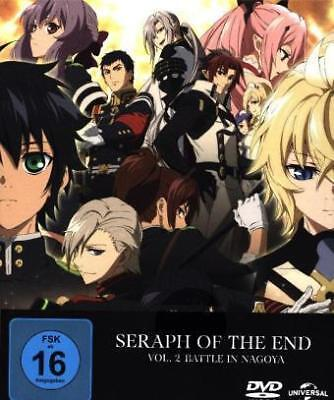 Seraph of the End Vol.2: Seraph of the End, DVDs (Limited Edition) - 264 Mi NEU