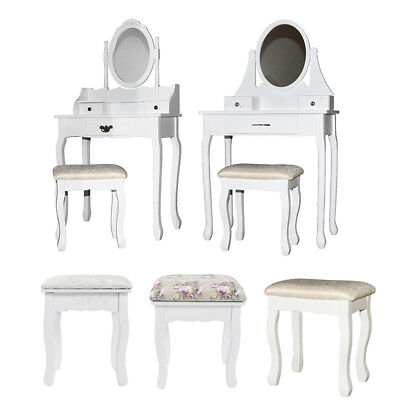Excellent White Vanity Dressing Table Jewelry Makeup Desk 3 Drawer Ncnpc Chair Design For Home Ncnpcorg