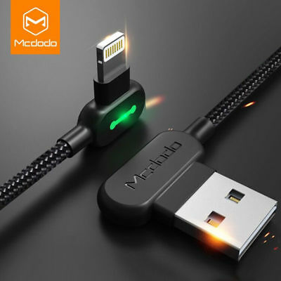 MCDODO Lightning USB Cable Fast Charger For iPhone Apple Xs Max X 8 7 6 SE 0.5m
