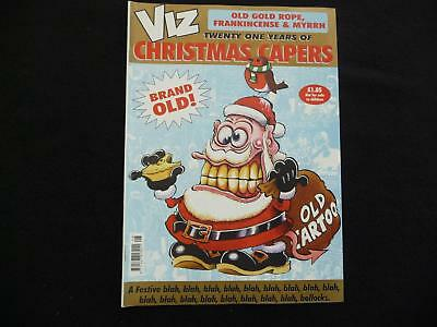 Viz Old Gold Rope comic - Twenty one years of Christma Capers RARE (LOT#5446)