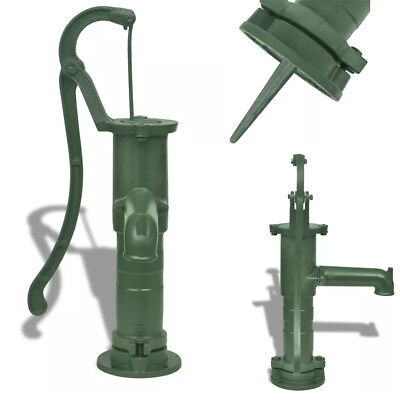 Vintage Old Style Cast Iron Garden Hand Water Pump Well Shallow Irrigation US