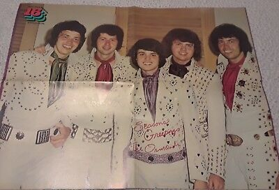 Osmonds 4 Page Poster Clipping From A Magazine 70's Donny Osmond