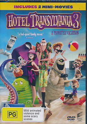Hotel Transylvania 3 A Monster Vacation DVD Region 4 NEW with Digital Download