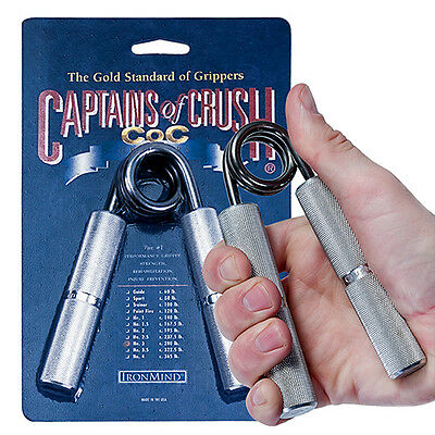 5 Ironmind Captains of Crush CoC Grippers & Expand Your Hand Bands