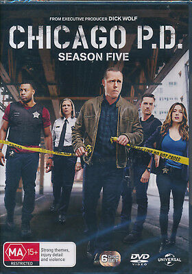 Chicago P. D. Season Five Fifth 5 DVD NEW Region 2 and 4