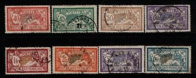 France 1900 1920 Merson to 5f  SG303-06, 308, 384, 387, 429 Used, CTO See note