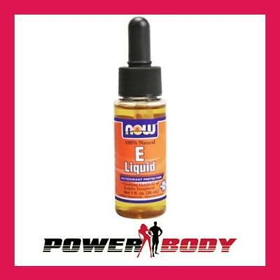 NOW Foods - Vitamin E Liquid - 30 ml.