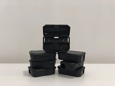 Rodent Poison Boxes (x12) - Heavy Duty and Lockable