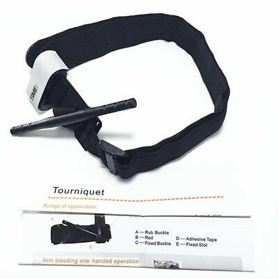 3x Tourniquet Rapid One Hand Application Emergency or Outdoor First Aid Kit Must