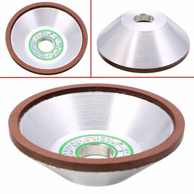 100mm Diamond Grinding Wheel Cup 180 Grit Cutter Grinder For Metal Carbide Tool