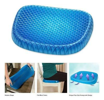 Pain Relief Seat Cushion with Non-Slip Cover, Breathable Absorbs Pressure Points