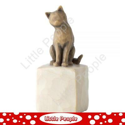 Willow Tree - Figurine Love My Cat (Dark) Collectable Gift NEW