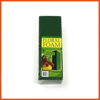 12 x GREEN FLORIST FOAM BRICK | Flower Arranging Floral Display Bouquet Holder