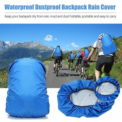 20L-85L Travel Camping Waterproof Rain Cover For Backpack Luggage Bag 8J