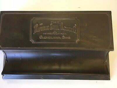 Republic Steel Package Co.antique Desk Top Organizer 1922 Calendar Cleveland Oh