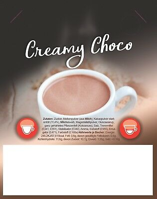 Incup - Kakao (Chreamy Choco) - 300 Becher je 15 g - Instant