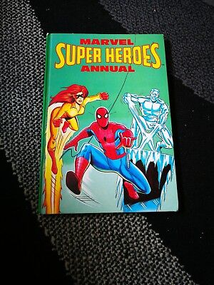marvel super heroes annual spiderman and his amazing friends 1981