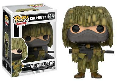FUNKO POP! games Call of Duty  ALL GHILLIED UP vinyl figure #144