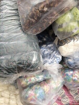 Job lot 1200g mixed wool / yarn - Stock Clearance