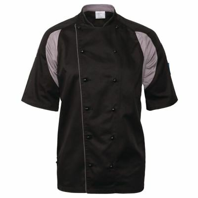 Le Chef Staycool Unisex Lightweight Jacket Black | Short Sleeve Top