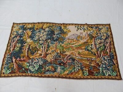 Vintage French Wall Hanging/Tapestry (150X77cm)