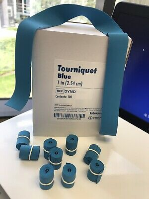 Disposable Rubber Tourniquest Pack of 100