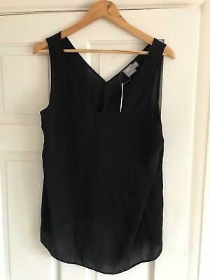 Black Asos Maternity vest / top. size 12. New with tags.