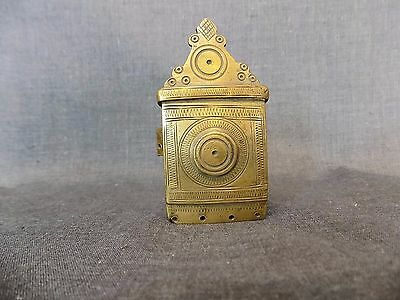 Antique Ottoman Turkish Military Brass Cap-Box 1850-1900
