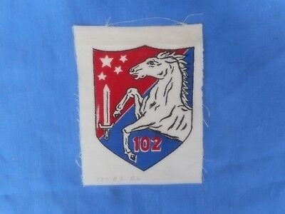 SOUTH VIETNAMESE ARVN 102rd Regional Forces Cloth Patch.