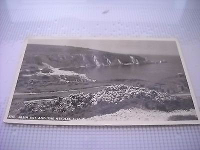 Vintage Photo Postcard-Alum Bay and the Needles, Isle of Wight