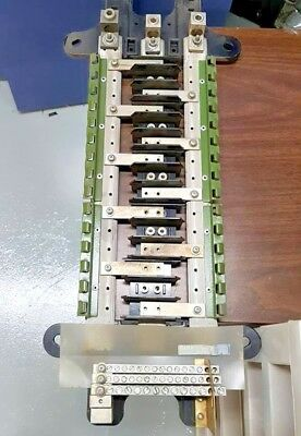 WESTINGHOUSE MAIN-LUG 225 amp Electric PANEL Type NQB 3 phase 4 Wire on
