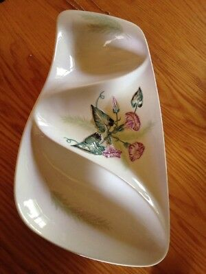 Carlton Ware Serving Dish Hand Painted