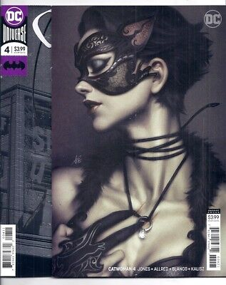 (2018) Catwoman #4 Foil Cover And #4 Stanley Artgerm Lau Variant Cover 9.4 / Nm