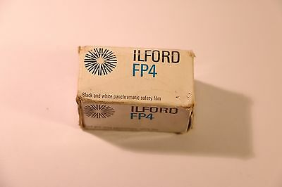Ilford Fp4 Panchromatic Safety Black & White Film 135 Exp 36 Expired 1978