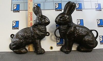Vintage ORIGINAL Griswold Cast Iron Rabbit Cake Mold