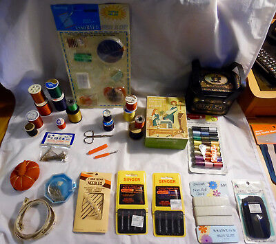 Lot of Antique Vintage SEWING ITEMS Notions