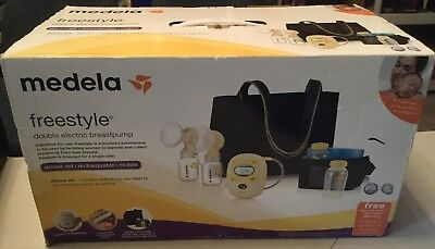Medela Freestyle Double Electric Breastpump Deluxe Set 67060 New Sealed In Box 197 00 Picclick