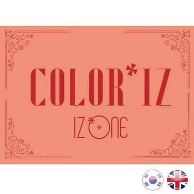[NEW + SEALED!] IZONE Color*Iz Debut 1st Mini Album IZ*ONE Produce 48 K-pop UK
