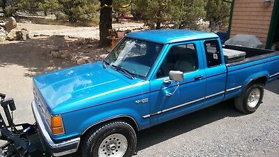 1992 Ford Ranger XLT 1992 Ford Ranger XLT extra cab 4wd with plow single owner